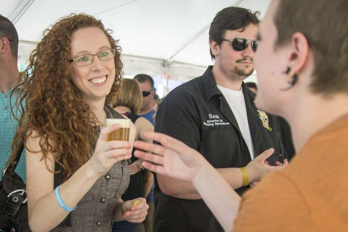 This year's Tapped craft beer festival in downtown Midland is planned for Saturday.