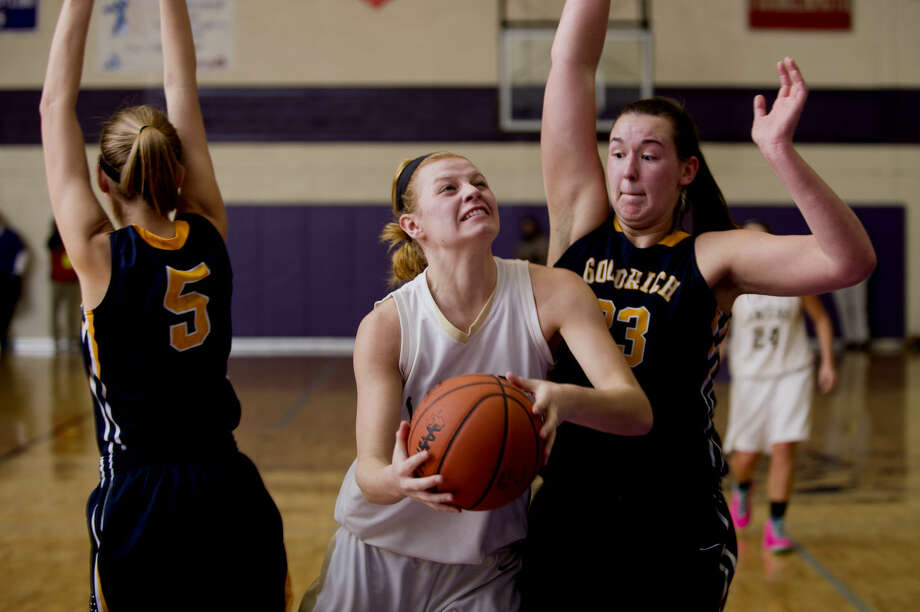 Bullock Creek's Halee Nieman was named First Team All-State in Class B this week. Photo: Neil Blake/Midland Daily News