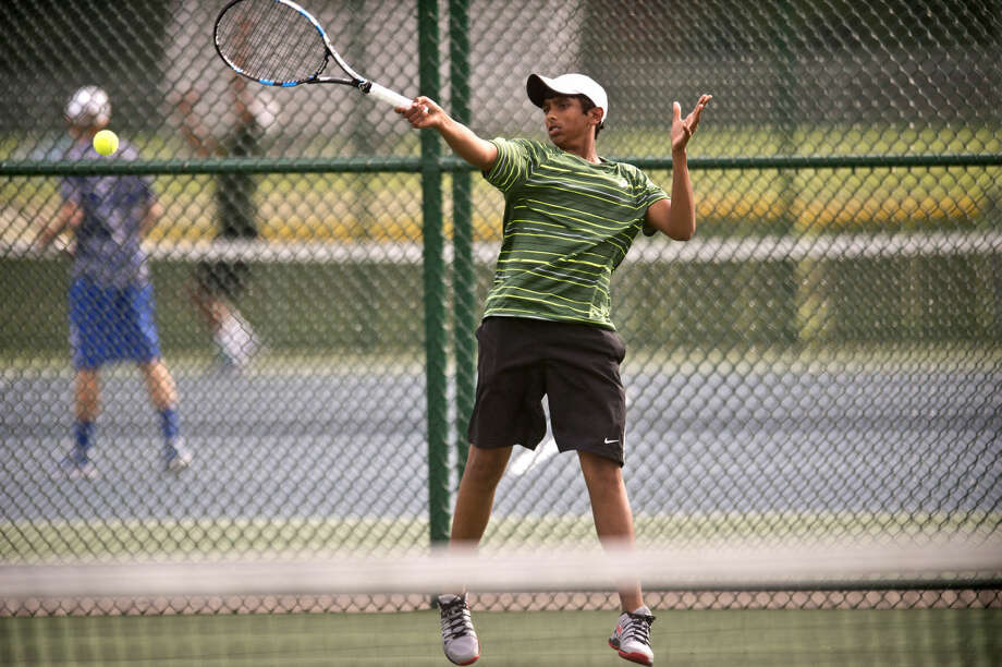 Dow High's Varun Shanker and his Charger teammates are setting their sights on a Division 2 state title this weekend in Holly. Photo: Erin Kirkland | Midland Daily News