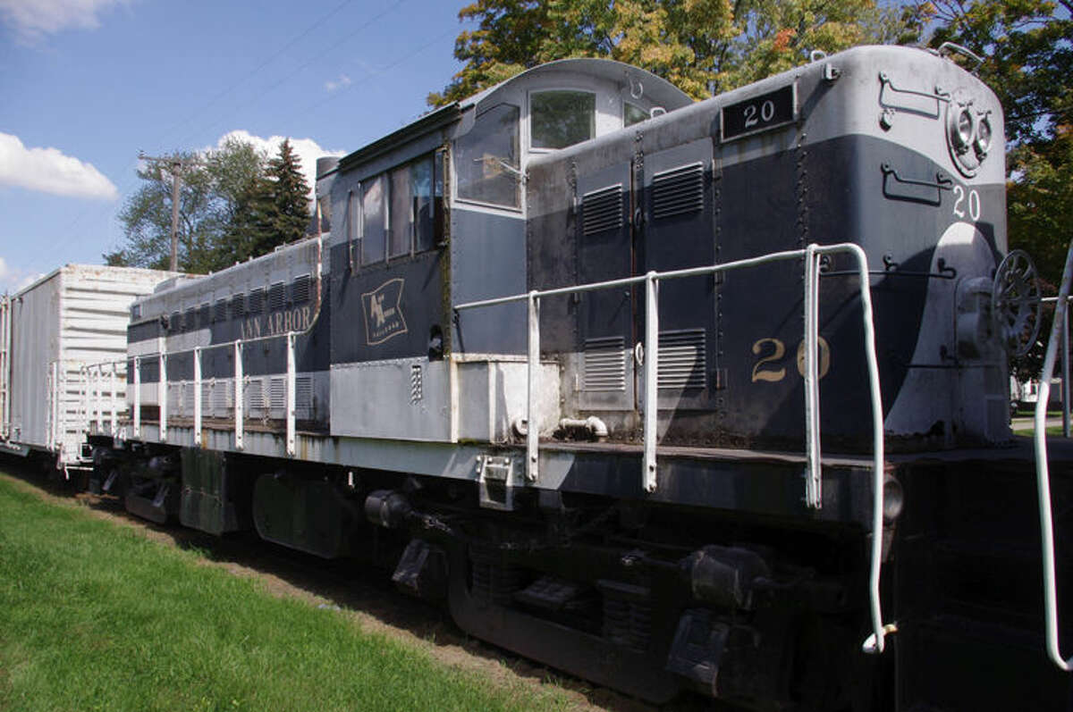 Engine 20 is owned by Southern Michigan Railroad Society of Clinton, but housed at the Shepherd depot.