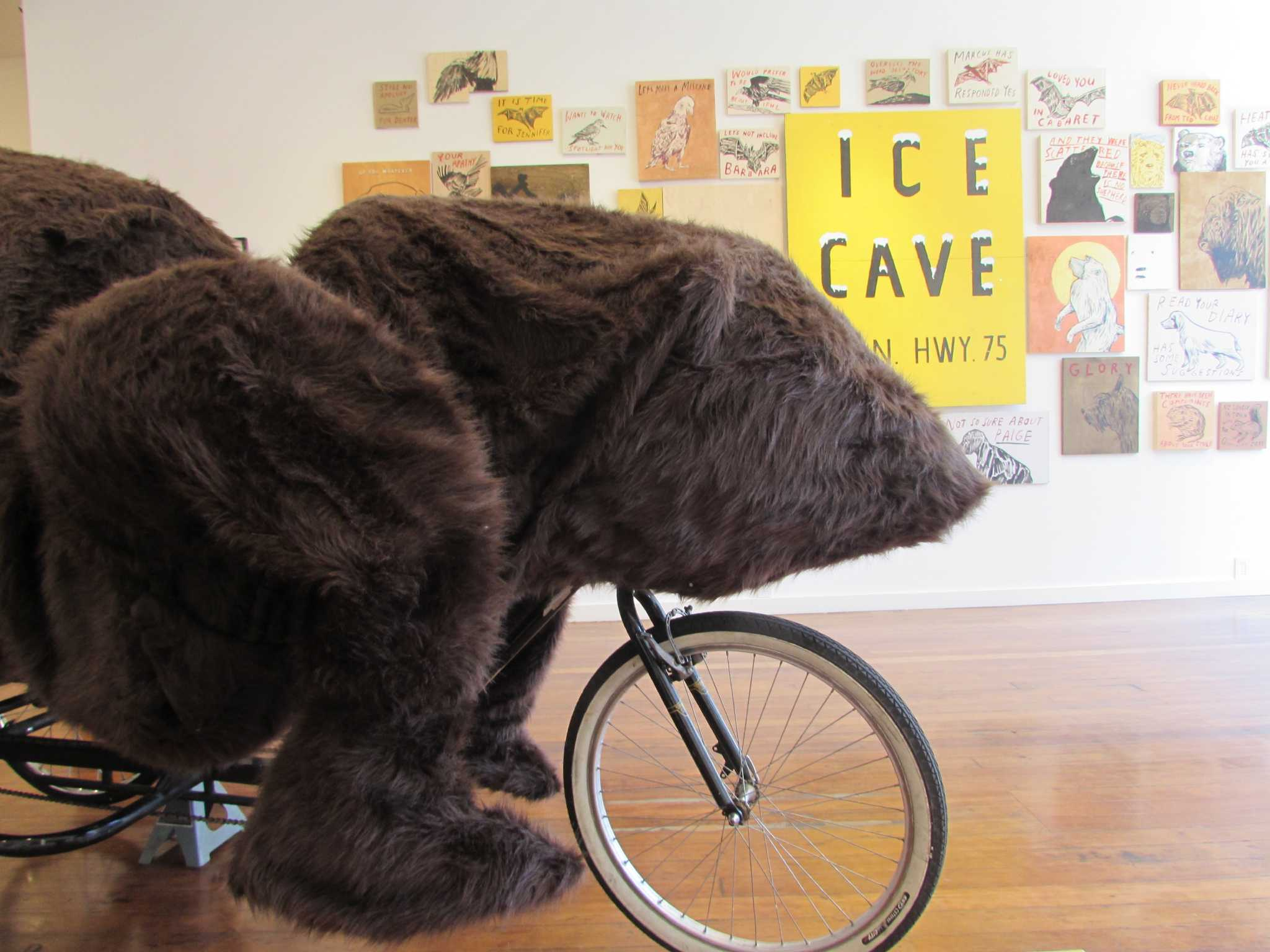 Unbearably fun: We rode the Dave Eggers bear pedicab in Hayes Valley