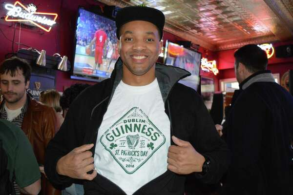 Were you SEEN celebrating St. Patrick's Day at Tiernan's in Stamford on March 17, 2016?