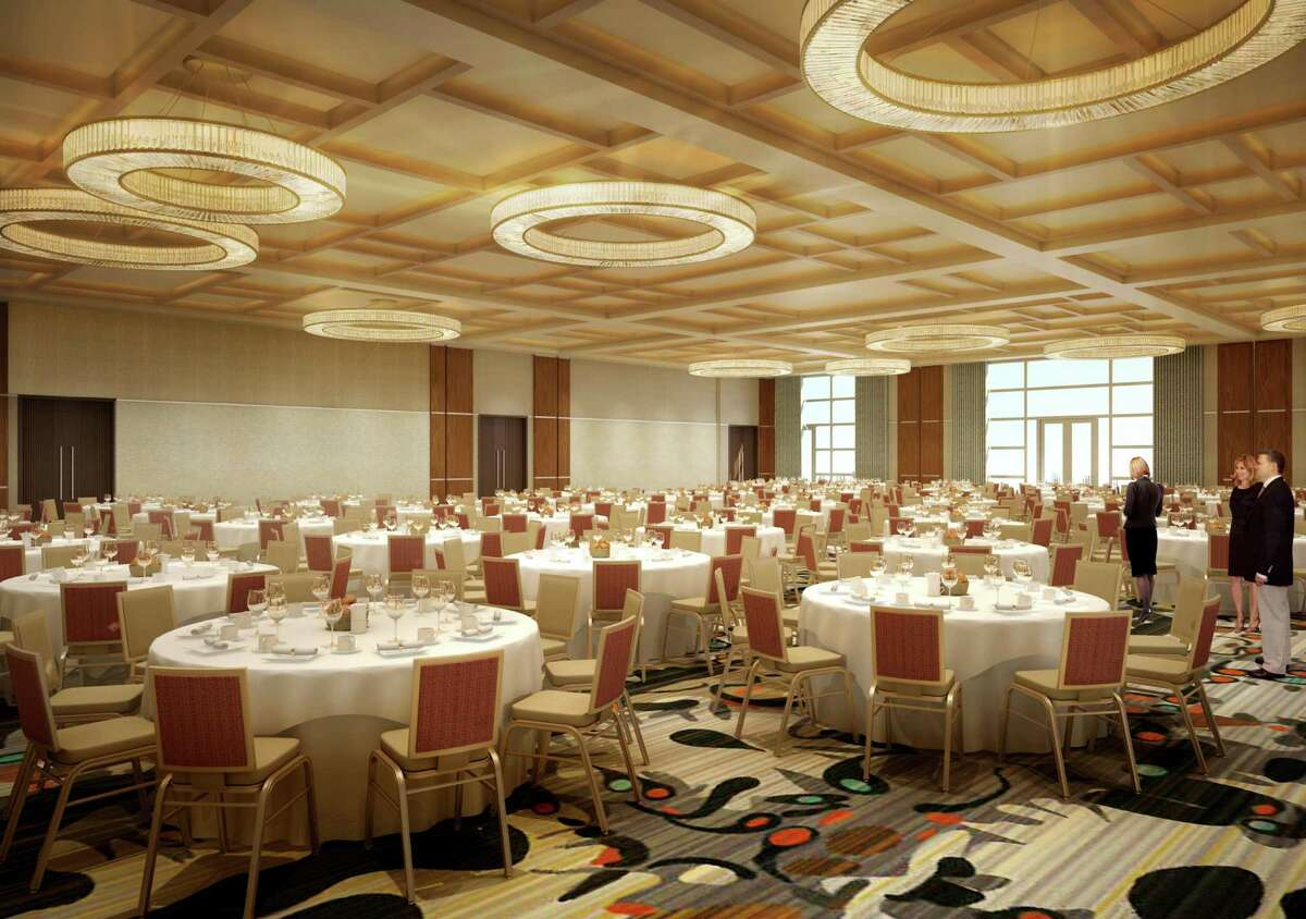 Rendering showing the event center inside Rivers Casino & Resort Schenectady, submitted on March 16, 2015. (Provided)