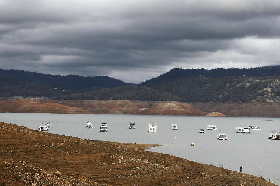 Lake Oroville has rebounded from 2014, when lake levels were extremely low. Photo: Leah Millis, The Chronicle