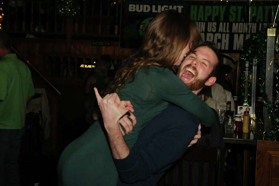 Were you SEEN celebrating St. Patrick's Day at Molly Darcy's in Danbury on March 17, 2016? Photo: Derek T. Sterling / News Times