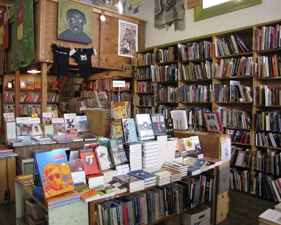 Dog Eared Books' Mission District store has been open since 1992. Photo: Stephanie Wright Hession