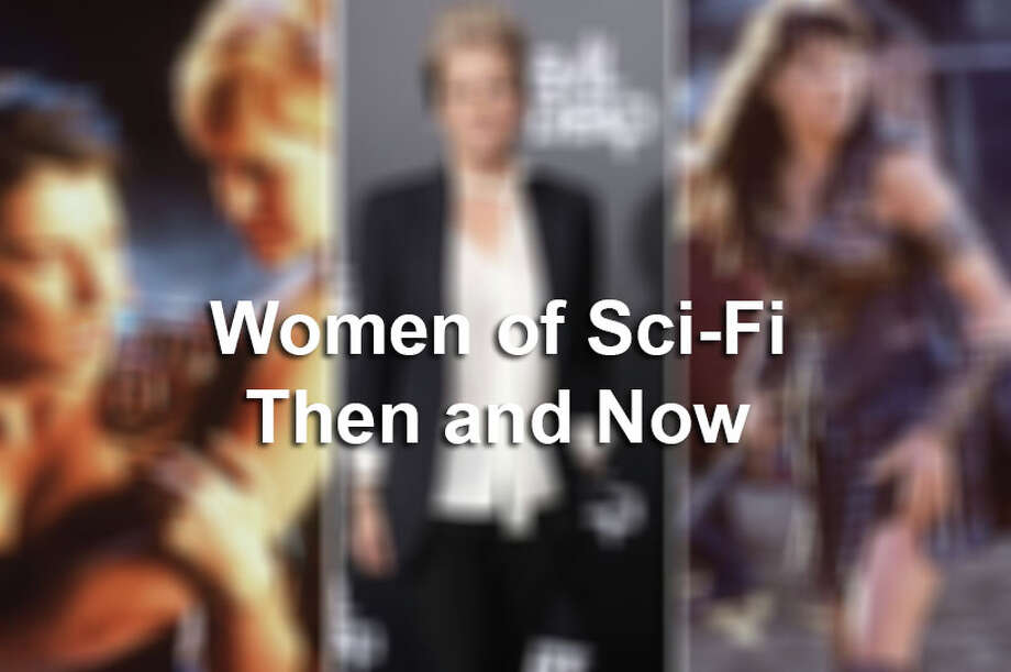 Click ahead to see some of the most memorable women of Sci-Fi then and now