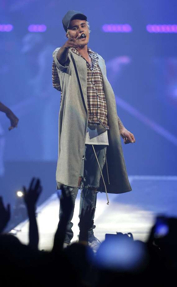 Justin Bieber performs at the SAP Center in San Jose, Calif., on Thursday, March 17, 2016. Photo: Scott Strazzante, The Chronicle