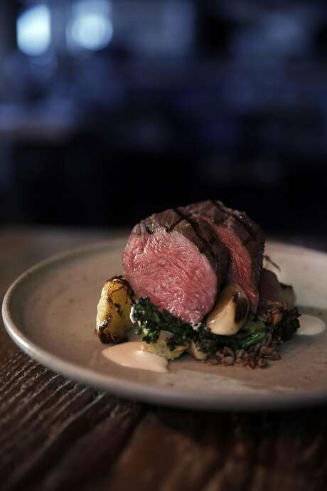 The Five Dot Ranch petite filet served at Octavia, one of the new generation of great San Francisco restaurants offering very short menus. Photo: Carlos Avila Gonzalez, The Chronicle