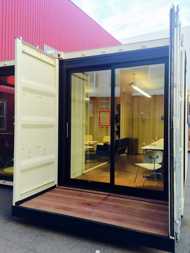SF startup is turning vacant lots into office spaces with shipping