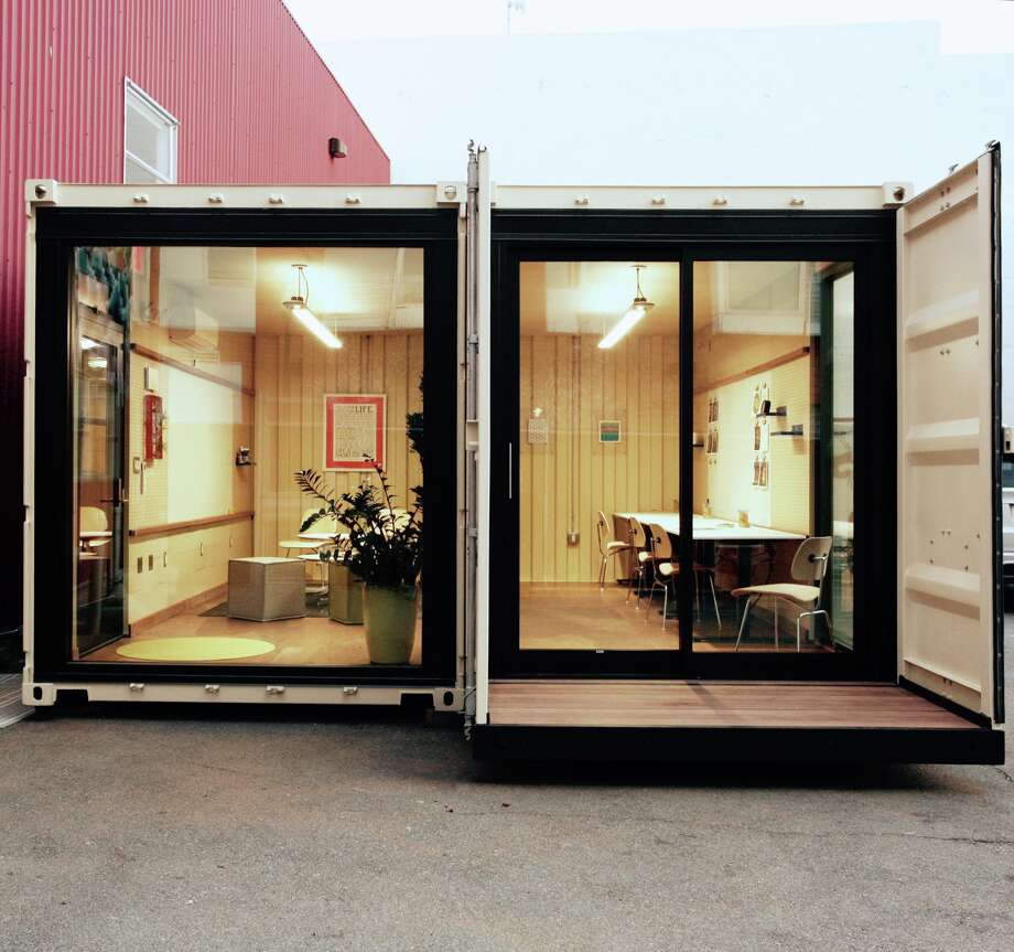 San Francisco startup Campsyte is transforming the city's vacant lots into affordable office spaces using shipping containers. Photo: Courtesy Campsyte