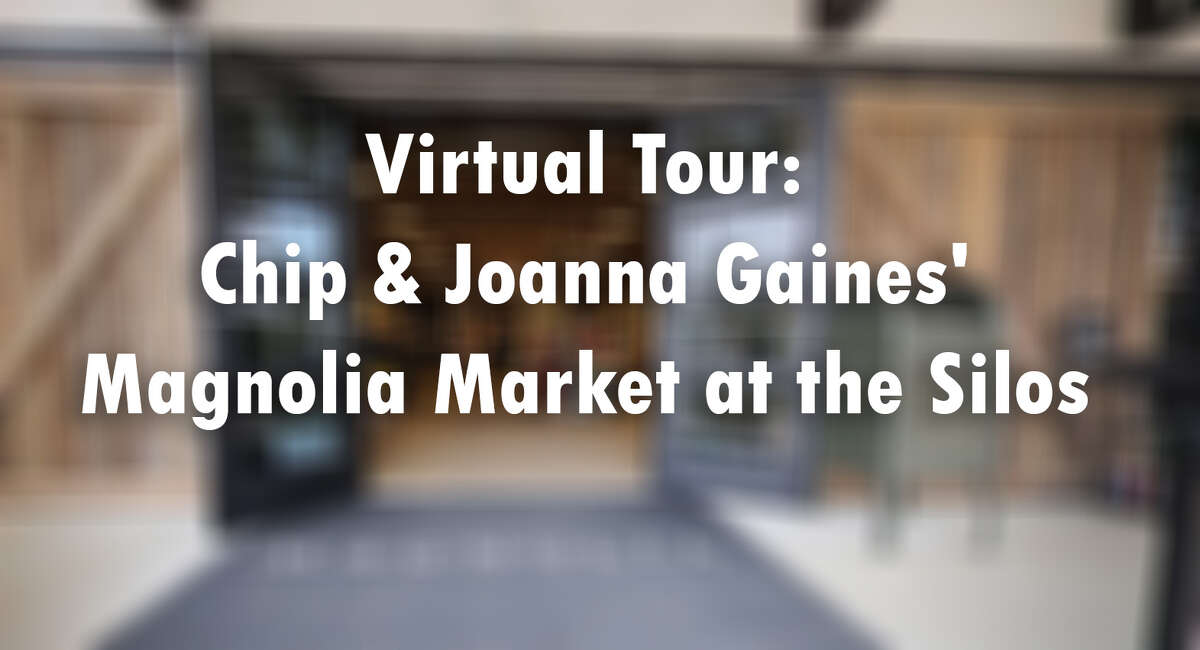 Can't make it to Waco to visit HGTV stars Chip & Joanna Gaines' Magnolia Market at the Silos? Take our virtual tour.