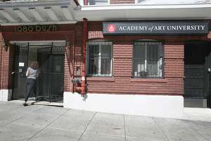 Residential property belonging to the Academy of Art University at 1080 Bush St. in San Francisco, California,  on thursday, march 17, 2016.  The Planning Commission is going to be holding a hearing on the Academy of Art University, which has been in violation of city zoning laws on many of its properties.
