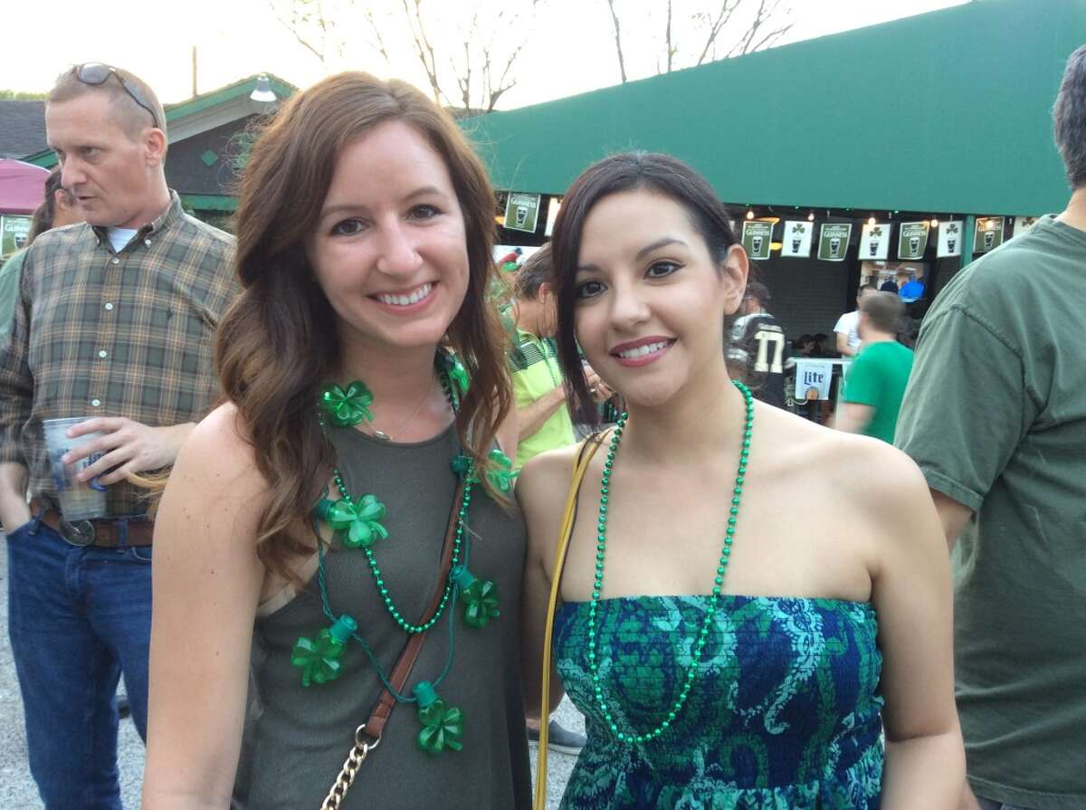 Partygoers celebrate St. Patrick's Day 2016 at The Harp, 1625 Richmond.