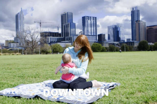 "Caryn Canatella, a Texas-based wedding filmmaker and parenting vlogger alongside her husband Bryan, made a video, co-starred by her six-month-old daughter Cecillia, that shows us all ""where to breastfeed."""