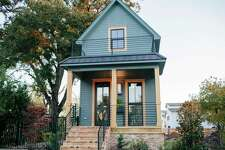 Chip and Joanna Gaines turned a decrepit shotgun home into a beautiful home that resembles a slightly larger version of a tiny home.