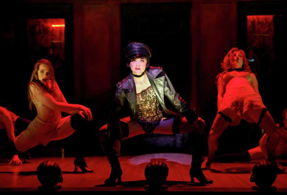 Andrea Goss as Sally Bowles in a scene from the national tour of Roundabout Theatre Company's 'Cabaret.' Photo: Joan Marcus / ©201 Joan Marcus