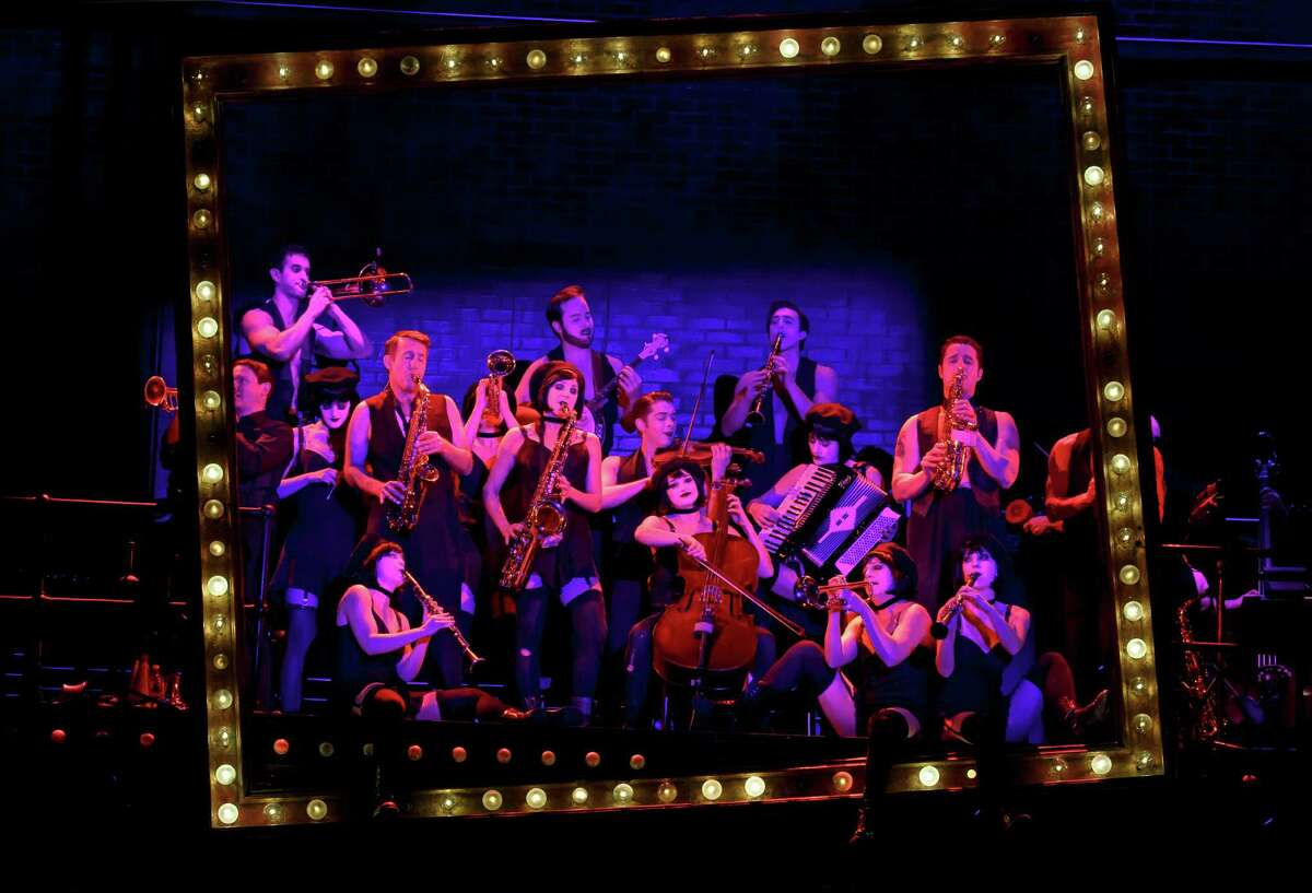 A scene from the national tour of Roundabout Theatre CompanyÂ?'s 'Cabaret.'