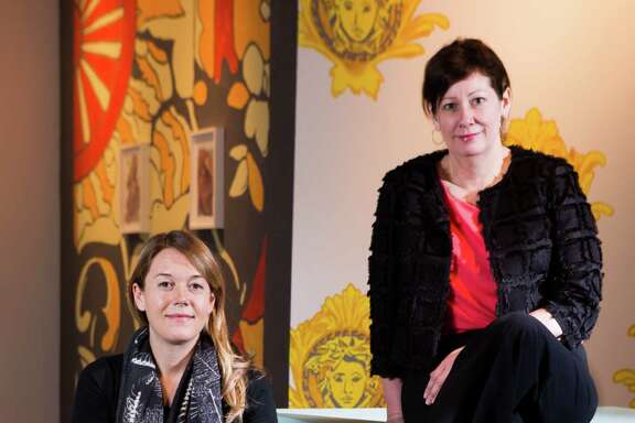 Stephanie Mitchell, left, director of Lawndale Art Center and Xandra Eden executive director and chief curator of DiverseWorks have big plans for the futures of their organizations.
