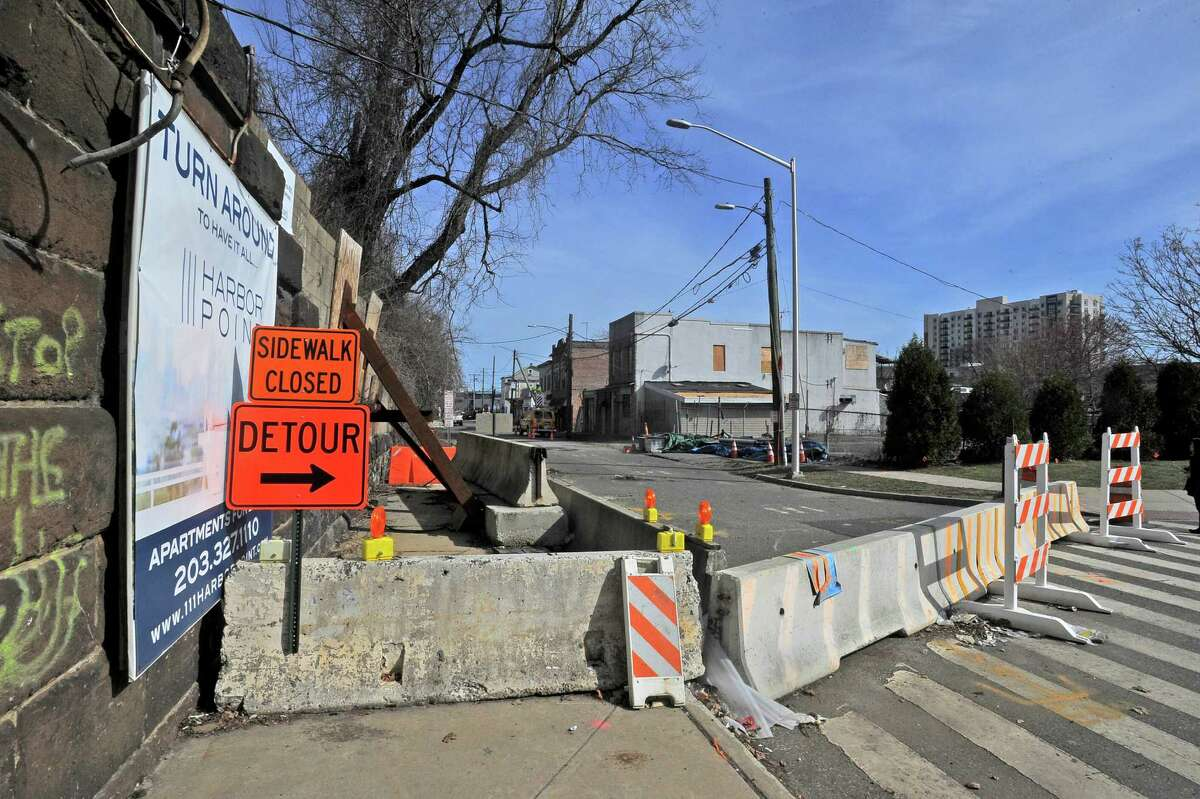 Residents and small business owners have dealt with road closures and re-development in and around Manhattan Street in Stamford.