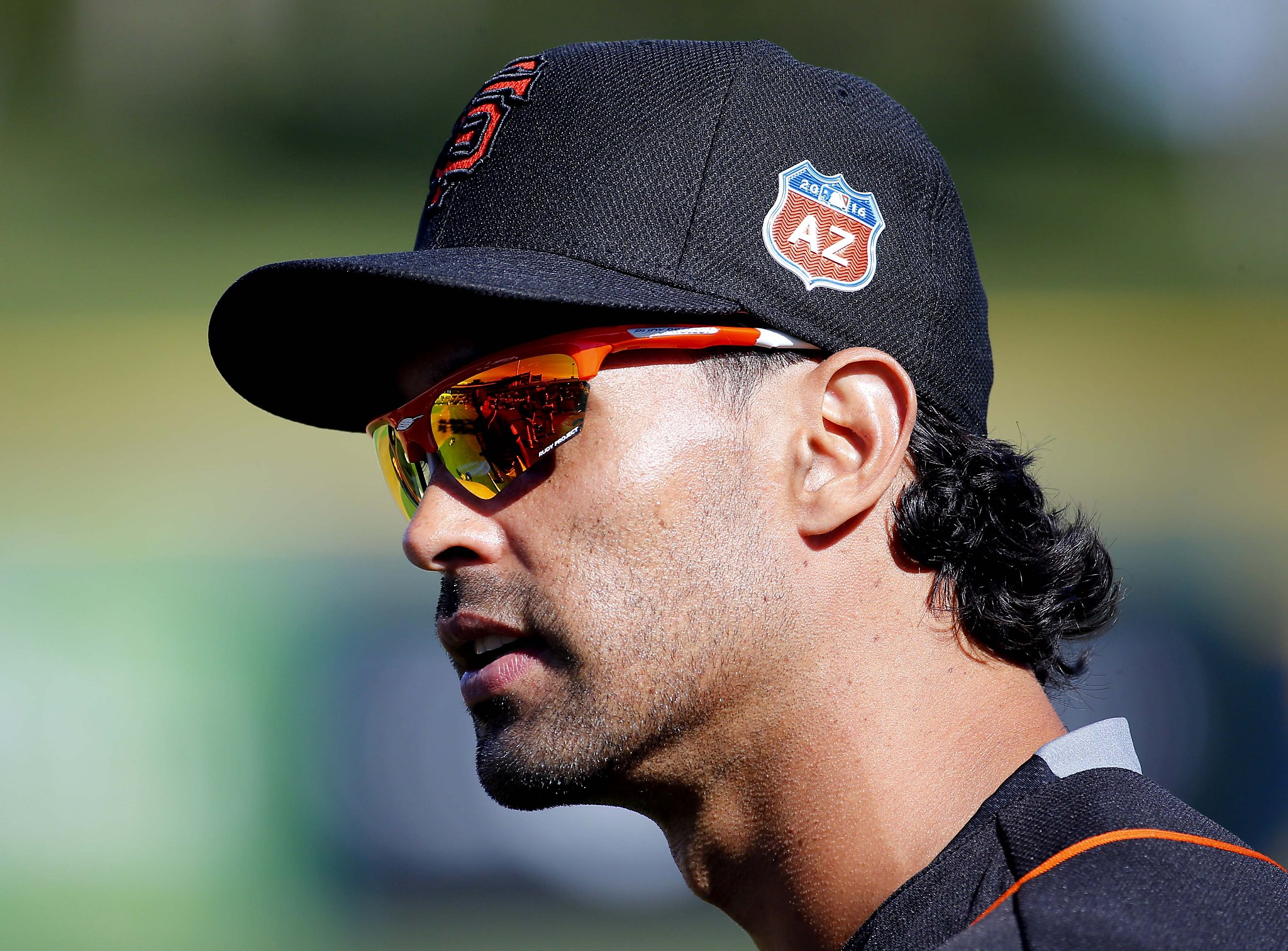 Why Do Baseball Players Wear Sunglasses  giants angel pagan explains why sunglasses were where they were