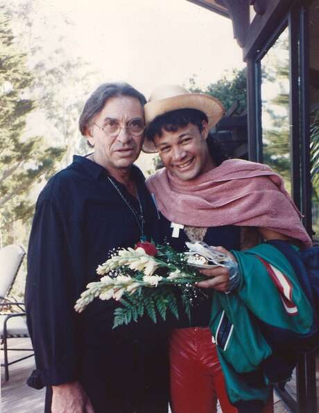 Bill Graham (with remote control in hand) and Narada Michael Walden
