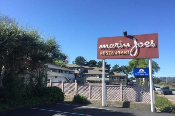 Outside Marin Joe's in Corte Madera.