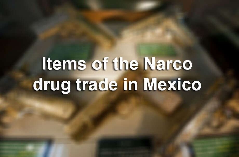 Items of the cartel drug trade are preserved in Mexico's private museum.