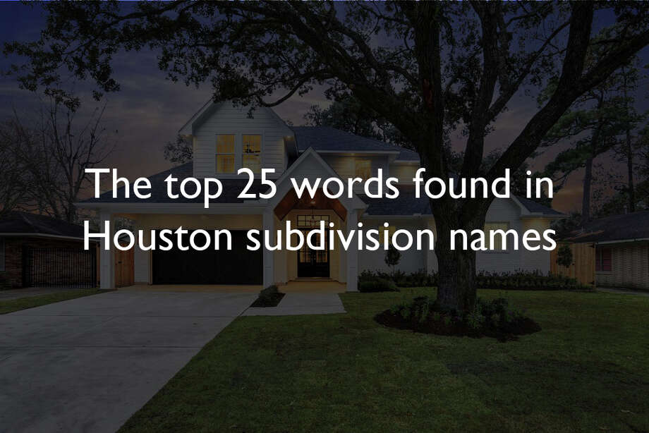 Houston suburbs seem to have the same names and a report from CDS Community Development Strategieshasproven this.Source:CDS Community Development Strategies Photo: Houston Chronicle