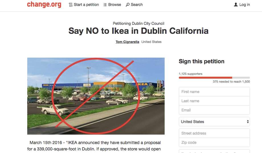 A new Change.org petition is hoping to keep IKEA from opening a new store in Dublin.