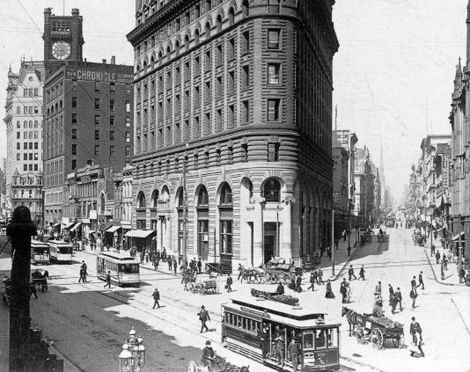 The city of San Francisco in 1900. / KEYSTONE-FRANCE