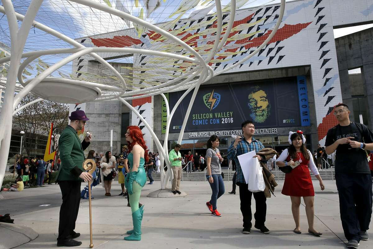 The Silicon Valley Comic Con returns this weekend to the San Jose Convention Center.