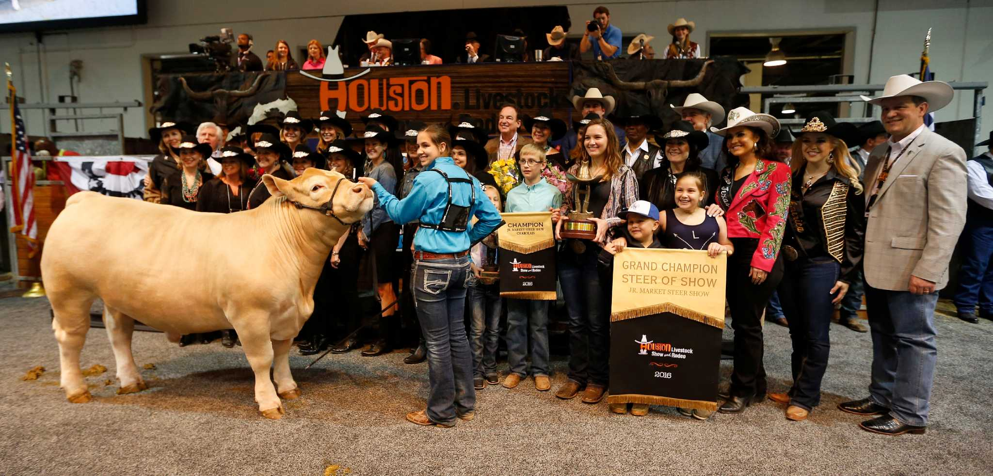 375k For Grand Champion Steer Has Unique Backstory