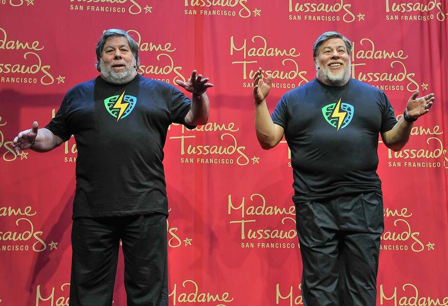 SAN JOSE, CA - MARCH 19:  (L) Apple Co-Founder Steve Wozniak poses next to his wax figure at the Madame Tussauds unveiling at the 1st Silicon Valley Comic Con at San Jose Convention Center on March 19, 2016 in San Jose, California.  (Photo by Steve Jennings/Getty Images for Madame Tussauds San Francisco) Photo: Steve Jennings, Getty Images For Madame Tussauds