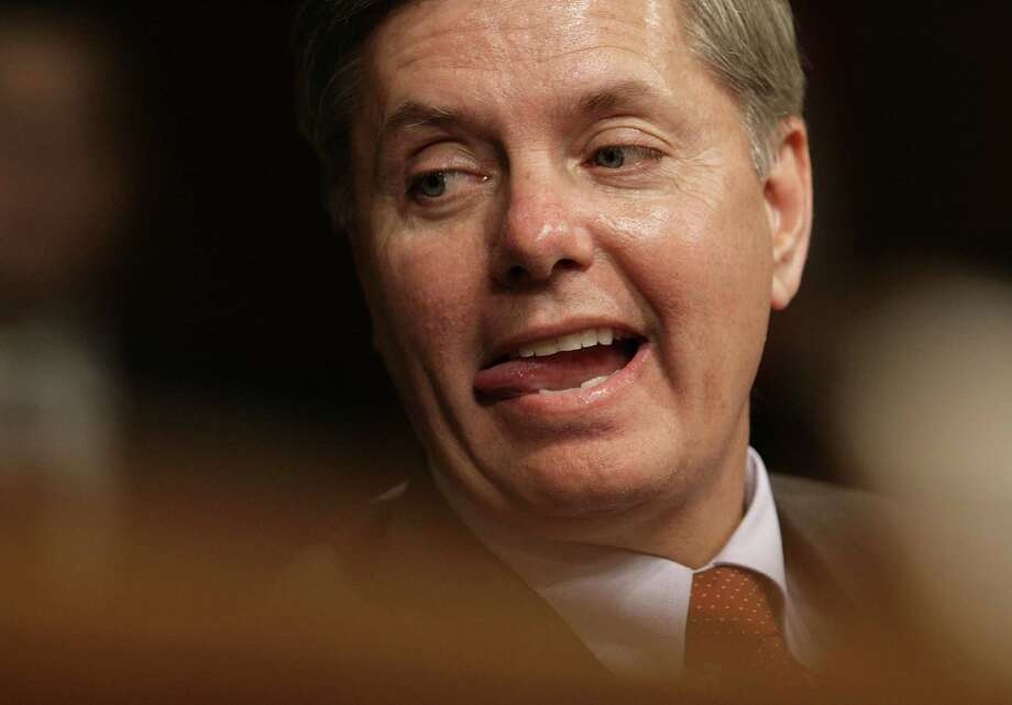 """South Carolina Senator Lindsey GrahamGraham called Donald Trump in February 2016 the """"most flawed nominee in the history of the Republican party,"""" ABC reported.At one of his rallies, Trump read Graham's phone number to the crowd in July 2015, USA Today reported.Graham said on Twitter that he voted for Evan McMullin instead of his party's nominee.On Nov. 9, 2016, Graham said on Twitter he would help the new president-elect any way he could. Photo: Chip Somodevilla, Getty Images / 2006 Getty Images"""