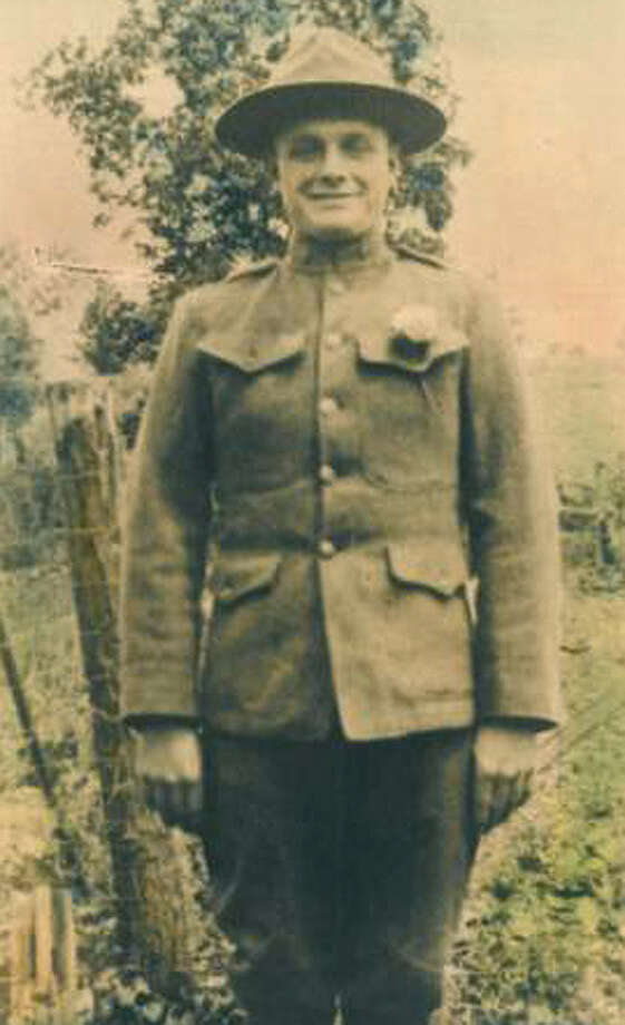 Frank L. Smith of Voorheesville during WWI. (Courtesy Dottie Wright)