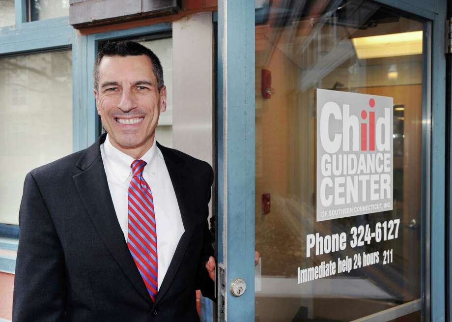 Eliot Brenner, president and CEO of Child Guidance Center of Southern Connecticut, at his Stamford office last week. Photo: Bob Luckey Jr. / Hearst Connecticut Media / Greenwich Time