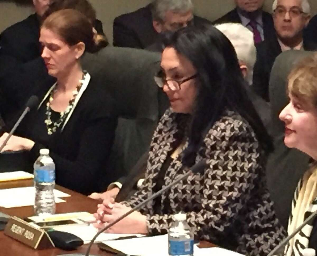 Betty Rosa is nominated to be the next chancellor of the state Board of Regents on Monday. (Skip Dickstein / Times Union)