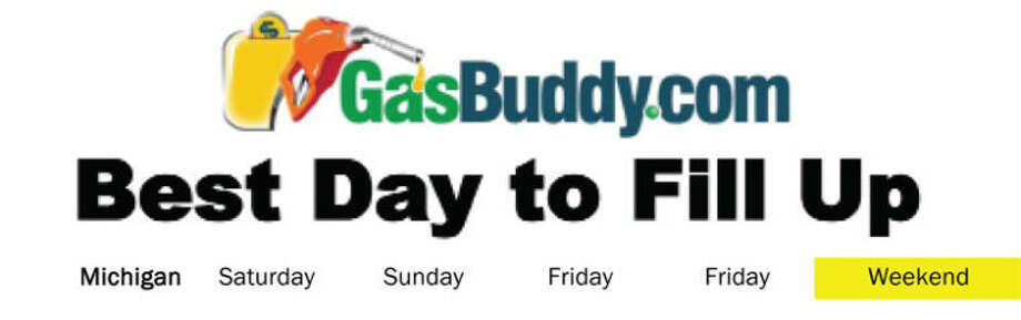 A GasBuddy analysis of the best days to buy gas in Michigan found that the lowest prices occurred on weekends. Photo: Z Model Paginator