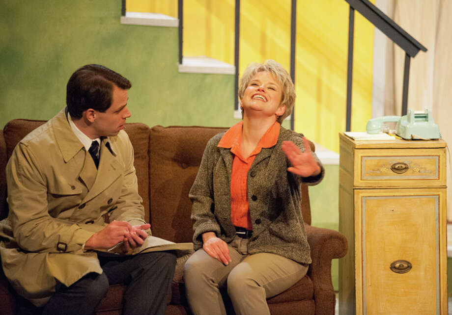 """STEVEN SIMPKINS/Daily News Mike: Chris Krause of Mount Pleasant and Susy: Trena Winans-Bagnall of Midland in the Midland Center for the Arts Center Stage production of """"Wait Until Dark."""""""