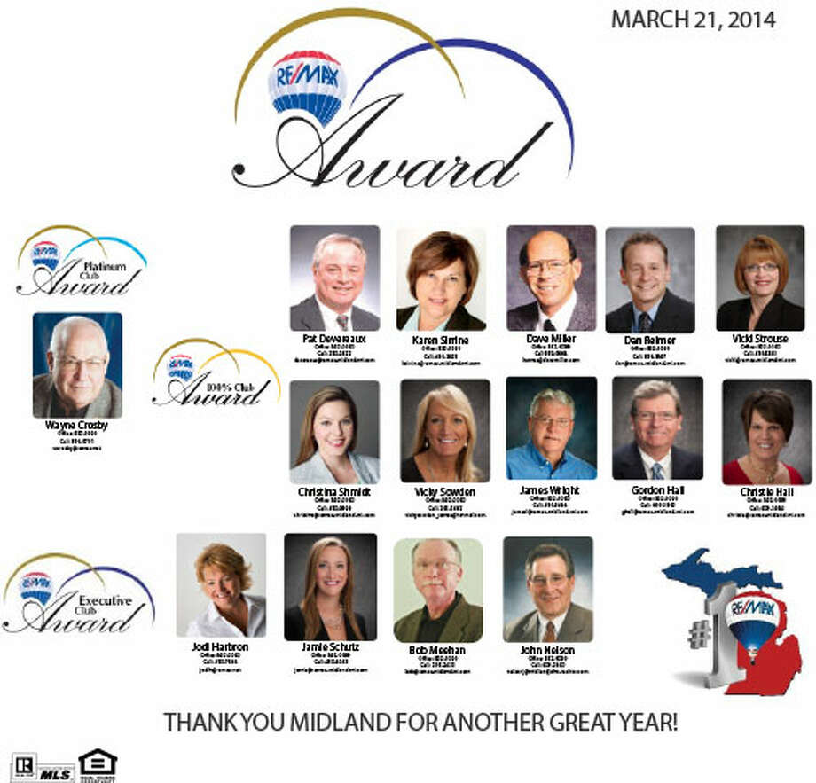 RE/MAX Of Midland - March 20th 2014