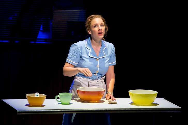 -- PHOTO MOVED IN ADVANCE AND NOT FOR USE - ONLINE OR IN PRINT - BEFORE FEB. 21, 2016. -- In an undated handout photo, Jessie Mueller in �Waitress,� a new musical opening on April 24, 2016. �Waitress,� based on the serio-comic indie film of the same name, is one of a number of eclectic offerings coming to Broadway this year. (Jeremy Daniel via The New York Times) -- NO SALES; FOR EDITORIAL USE ONLY WITH STORY SLUGGED THEATER-ISHERWOOD BY ISHERWOOD FOR FEB. 21, 2016. ALL OTHER USE PROHIBITED. �