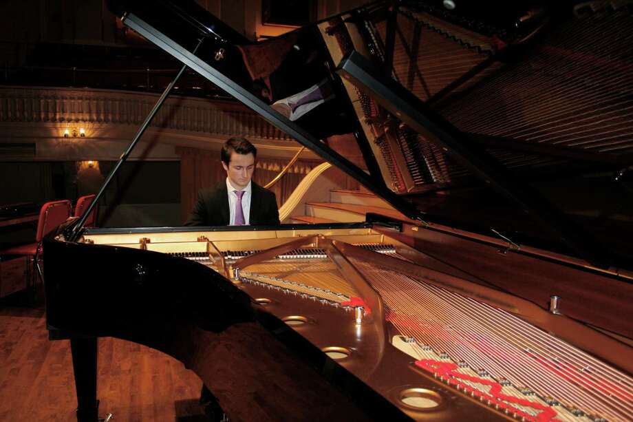 Alex Beyer, of Fairfield, has been chosen among the top young pianists in the United States. Photo: Contributed Photo