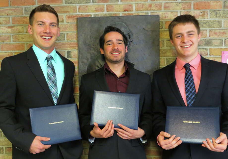 Shown are, from left, Nicholas Vetrano, Adam Zanetti and Harry Flotemersch. Photo: Photo Provided