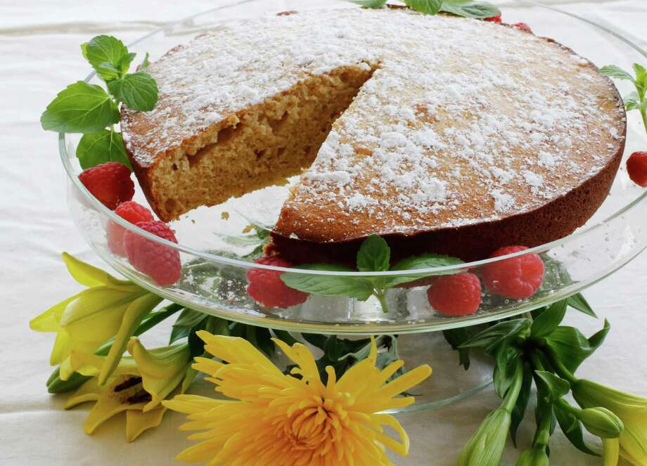 Lemon Cottage Cheese Cake is among desserts that can incorporate the more healthful cottage cheese. Photo: J.M. Hirsch, STF / AP