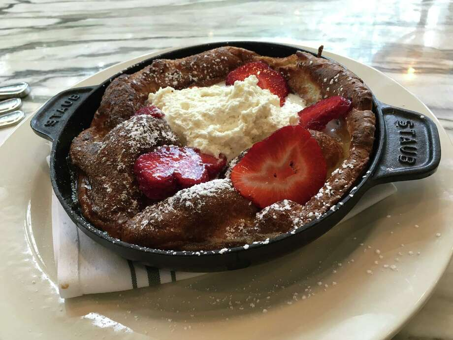 Houston's Best PancakesDutch Baby at State of Grace restaurant, 3258 Westheimer. Photo: Alison Cook