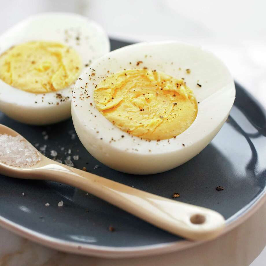 Perfect hard-boiled eggs that are easy to peel can be achieved by steaming eggs instead of boiling. The new method is being publicized this year by the American Egg Board and a new recipe in April 2016 issue of Cook's Illustrated magazine. Photo: American Egg Board