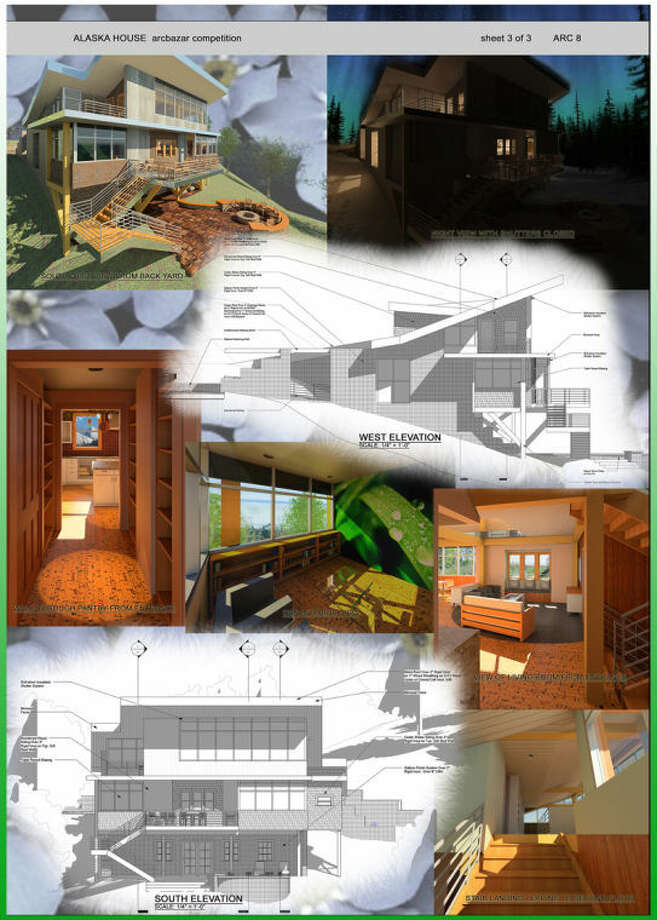 A design board created by Joshua Steere. Photo: Photo Provided