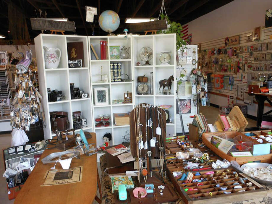 Photo providedA sampling of the antiques for sale at Scrapbooks Galore & More at 301 E. Wackerly St.
