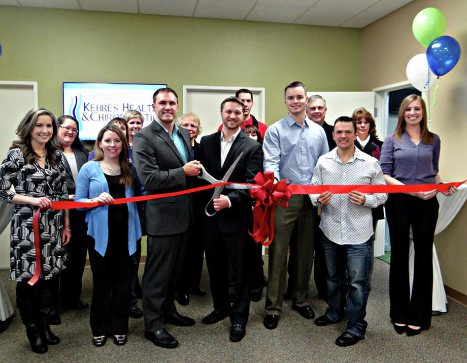 Photo providedKehres Health & Chiropractic Midland recently had a ribbon-cutting ceremony with the Midland Area Chamber of Commerce.